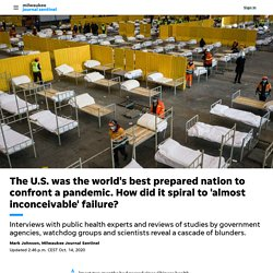 America had the world's best pandemic response plan. Why did it fail?
