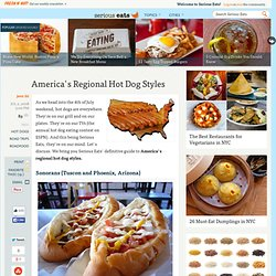 America's Regional Hot Dog Styles