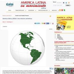 América latina y EEUU: Una relación asimétrica
