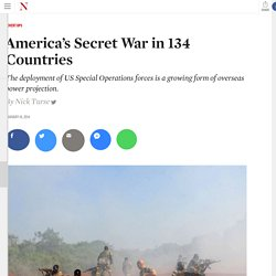 America's Secret War in 134 Countries