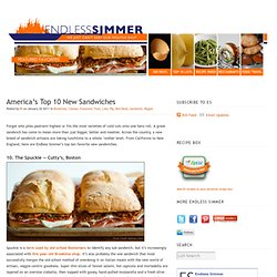 America's Top 10 New Sandwiches