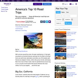 Americas Top 10 Road Trips - StumbleUpon