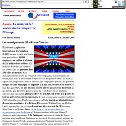 Le nouveau defi americain: la conquete de l'Europe - Amnistia.net news