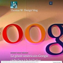Le géant américain Google cède face à la loi belge