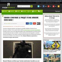 L'armure Iron Man de l'armée américaine va devenir réalité