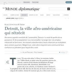 Detroit, la ville afro-américaine qui rétrécit, par Allan Popelard et Paul Vannier