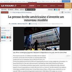 Médias & Publicité : La presse écrite américaine s'invente un nouveau modèle