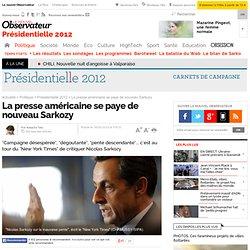 La presse américaine se paye de nouveau Sarkozy