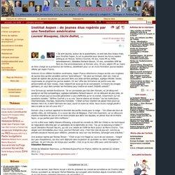 Institut Aspen : de jeunes élus repérés par une fondation américaine