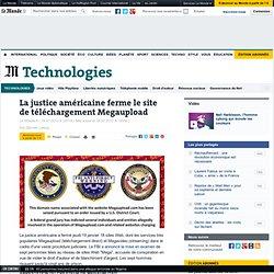 La justice américaine ferme le site de téléchargement Megaupload