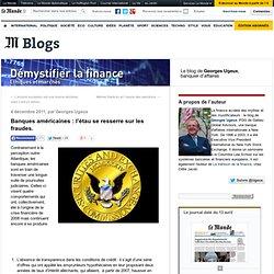 Banques US : l'étau se resserre sur les fraudes