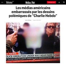 """Les médias américains embarrassés par les dessins polémiques de """"Charlie Hebdo"""""""