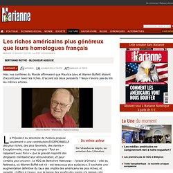 Les riches américains plus généreux que leurs homologues français