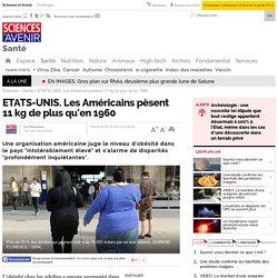 ETATS-UNIS. Les Américains pèsent 11 kg de plus qu'en 1960 - 8 septembre 2014