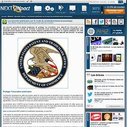 Les brevets américains sur la route du protectionnisme économique