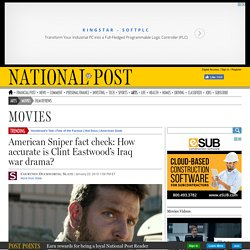 American Sniper fact check: How accurate is Clint Eastwood's Iraq war drama?