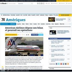 American Airlines dépose son bilan et poursuit ses opérations
