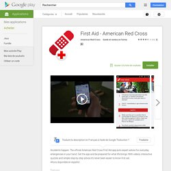 First Aid - American Red Cross – Applications Android sur Google Play