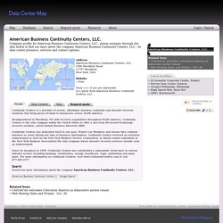 American Business Continuity Centers, LLC.