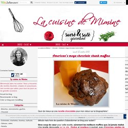 American's mega chocolate chunk muffins