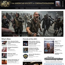 ASC: The American Society of Cinematographers