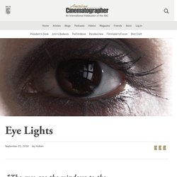 Eye Lights - The American Society of Cinematographers
