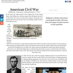The American Civil War - American History for Kids!