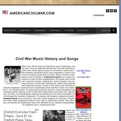 American Civil War Music