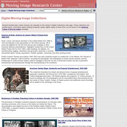 Library of Congress - Digital Moving Image Collections