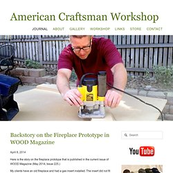 Journal - American Craftsman Workshop