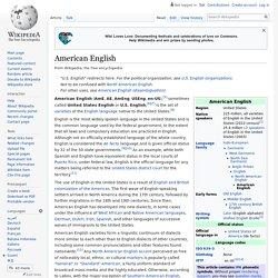American English