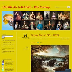 AMERICAN GALLERY - 18th Century