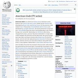 American Gods (TV series) - Wikipedia