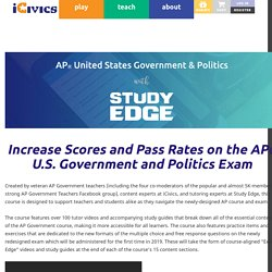 AP American Government and Politics with Study Edge