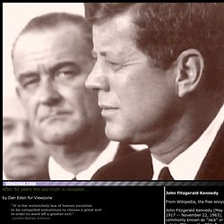 LBJ Killed JFK... American History and Politics