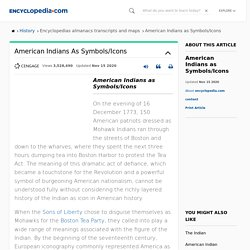 American Indians as Symbols/Icons