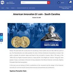 American Innovation $1 coin - South Carolina