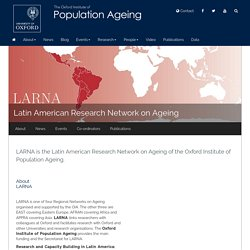 Latin American Research Network on Ageing (LARNA)