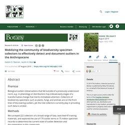 American Journal of Botany