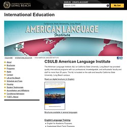 American Language Institute