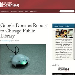 Google Donates Robots to Chicago Public Library