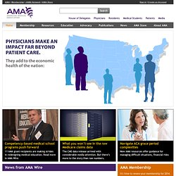 American Medical Association - Physicians, Medical Students & Patients (AMA)