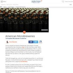 American Microbreweries