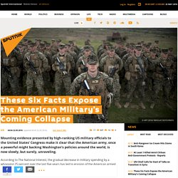 These Six Facts Expose the American Military's Coming Collapse