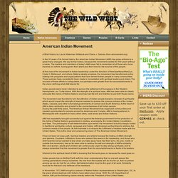 American Indian Movement | Cowboys, Native American, American History, Wild West, American Indians | thewildwest.org