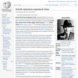 Jewish-American organized crime - Wikipedia