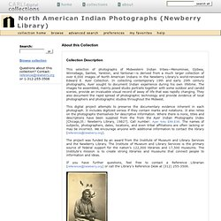 North American Indian Photographs (Newberry Library) : Home