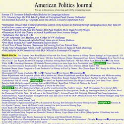 American Politics Journal - Newswire