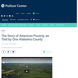 American poverty in Alabama Lowndes county
