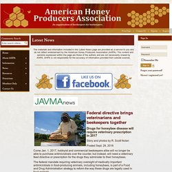 Latest News - American Honey Producers Association